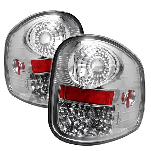 Spyder ALT-YD-FF15097FS-LED-C:  Ford F150 Flareside 97-03 LED Tail Lights - Chrome