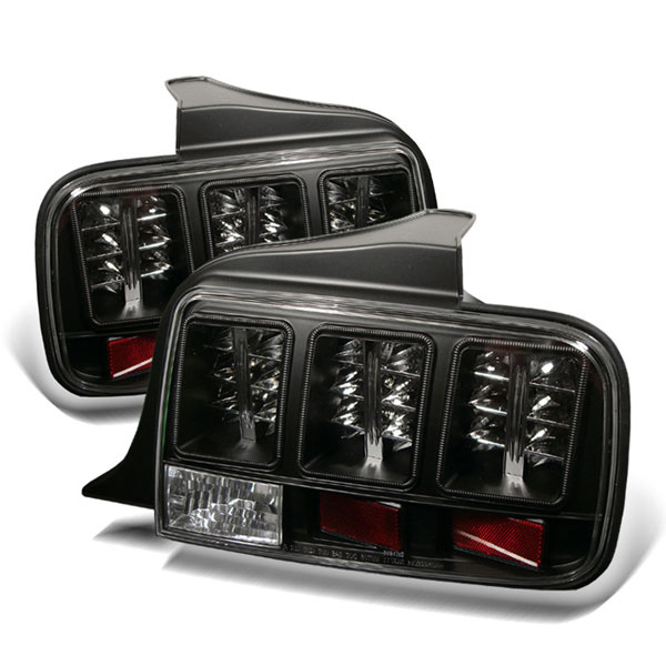 Spyder ALT-YD-FM05-LED-BK:  Ford Mustang 05-09 LED Tail Lights - Black