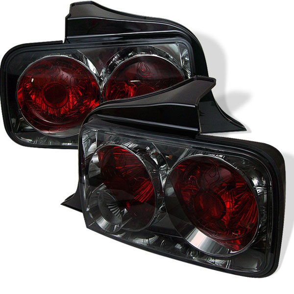 Spyder ALT-YD-FM05-SM:  Ford Mustang 05-09 Altezza Tail Lights - Smoke