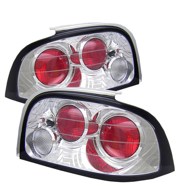 Spyder ALT-YD-FM94-C:  Ford Mustang 94-95 Altezza Tail Lights - Chrome V6