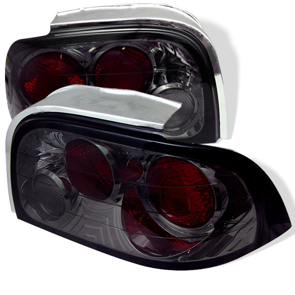 Spyder 5003652:  Ford Mustang 96-98 Altezza Tail Lights - Smoke  - (ALT-YD-FM96-SM)
