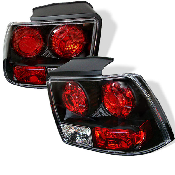 Spyder 5003669:  Ford Mustang 99-04 Altezza Tail Lights - Black V6  - (ALT-YD-FM99-BK)
