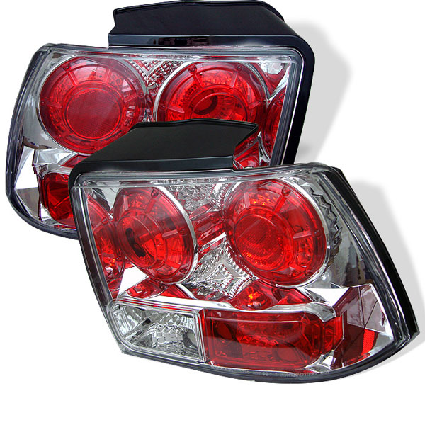 Spyder ALT-YD-FM99-C:  Ford Mustang 99-04 Altezza Tail Lights - Chrome