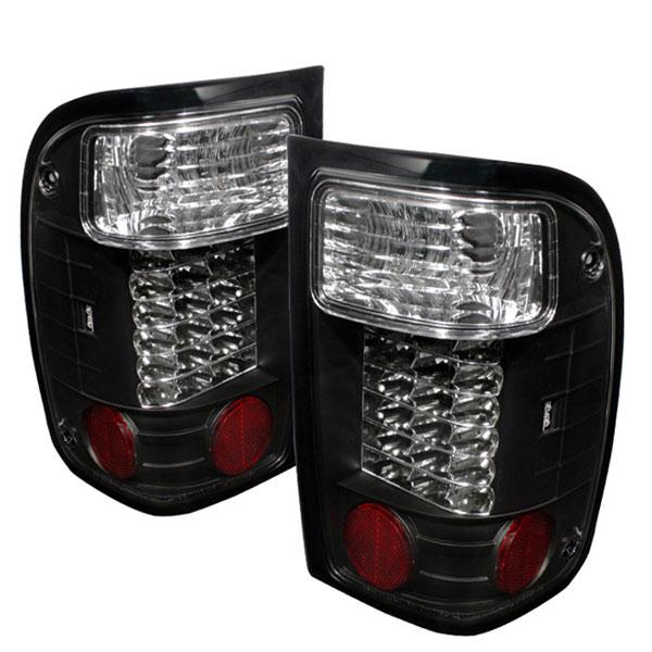 Spyder ALT-YD-FR93-LED-BK:  Ford Ranger 93-00 LED Tail Lights - Black