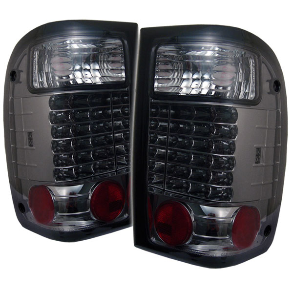 Spyder ALT-YD-FR93-LED-SM:  Ford Ranger 93-00 LED Tail Lights - Smoke