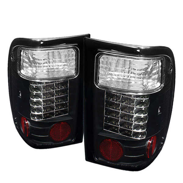 Spyder ALT-YD-FR98-LED-BK:  Ford Ranger 01-05 LED Tail Lights - Black