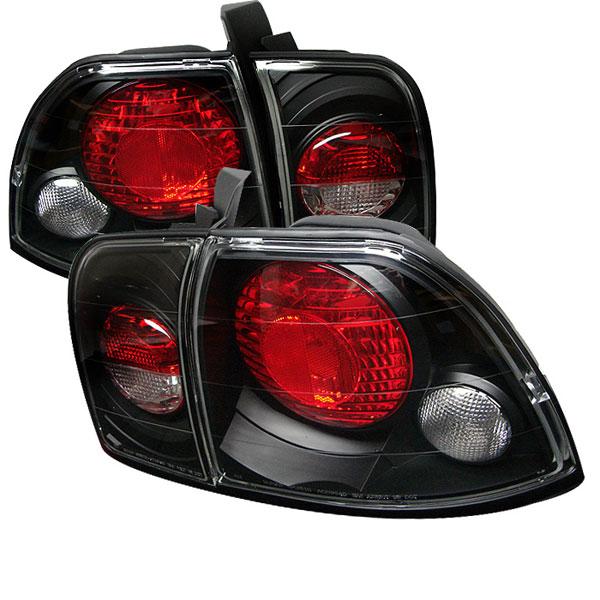 Spyder 5004215 |  Honda Accord Altezza Tail Lights - Black - (ALT-YD-HA96-BK); 1996-1997