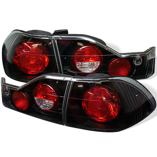 Spyder (5004321)  Honda Accord 98-00 4Dr Altezza Tail Lights - Black  - (ALT-YD-HA98-BK)