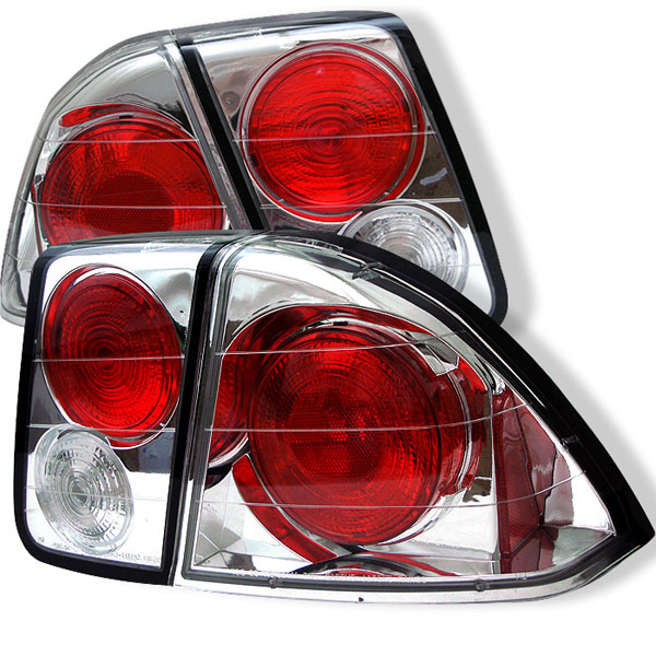 Spyder ALT-YD-HC01-4D-C:  Honda Civic 01-05 4Dr Altezza Tail Lights - Chrome