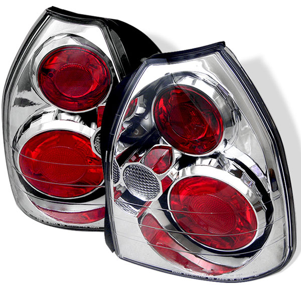 Spyder ALT-YD-HC96-3D-C:  Honda Civic 96-00 3DR Altezza Tail Lights - Chrome