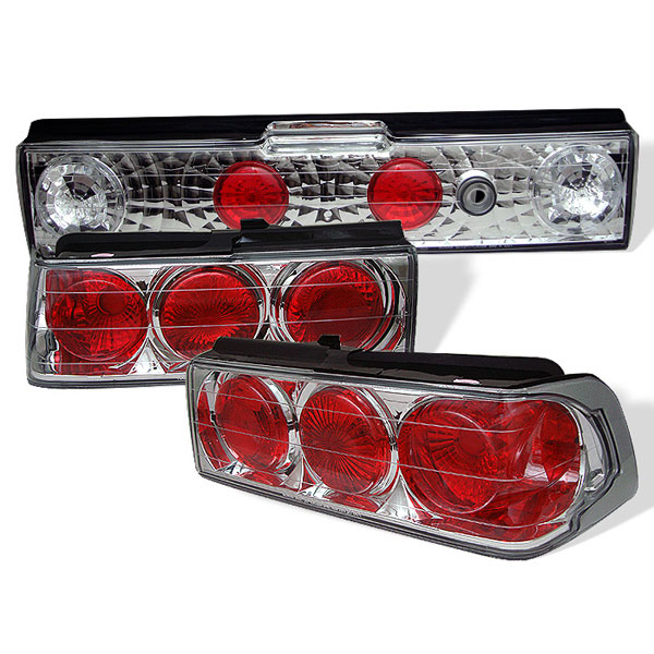 Spyder ALT-YD-HCRX88-C:  Honda CRX 88-91 Altezza Tail Lights - Chrome