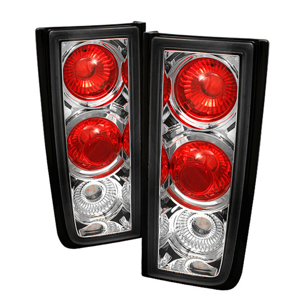 Spyder ALT-YD-HH2-C:  Hummer H2 01-05 Altezza Tail Lights - Chrome