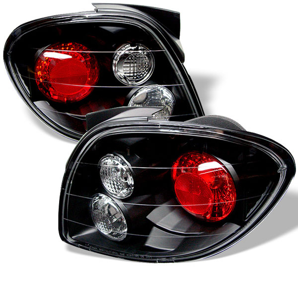 Spyder (5005403)  Hyundai Tiburon 00-02 Altezza Tail Lights - Black  - (ALT-YD-HYT00-BK)