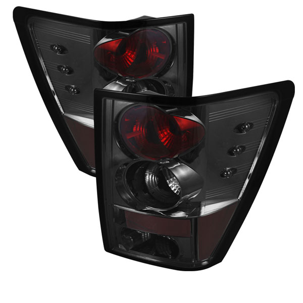 Spyder ALT-YD-JGC05-SM:  Jeep Grand Cherokee 05-06 Tail Lights - Smoke