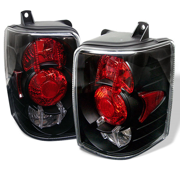 Spyder ALT-YD-JGC93-BK:  Jeep Grand Cherokee 93-98 Altezza Tail Lights - Black