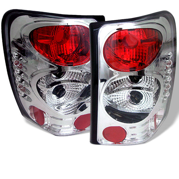 Spyder ALT-YD-JGC99-C:  Jeep Grand Cherokee 99-04 Altezza Tail Lights - Chrome