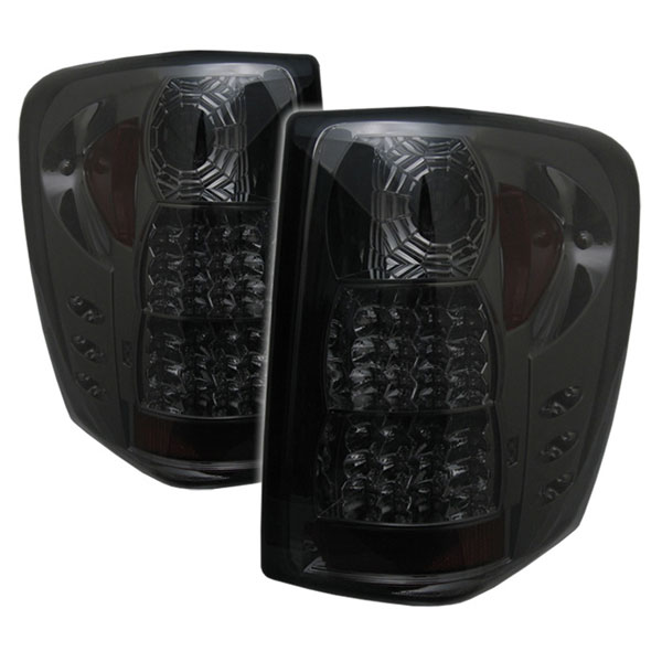 Spyder ALT-YD-JGC99-LED-SM:  Jeep Grand Cherokee 99-04 ( LED Indicator ) LED Tail Lights - Smoke