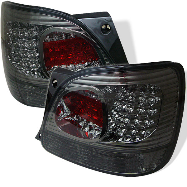Spyder ALT-YD-LGS98-LED-SM:  Lexus GS 300 / 400 98-05 LED Tail Lights - Smoke