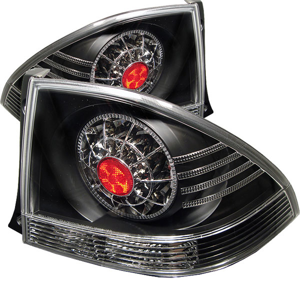 Spyder ALT-YD-LIS300-LED-BK:  Lexus IS 300 01-05 LED Tail Lights - Black
