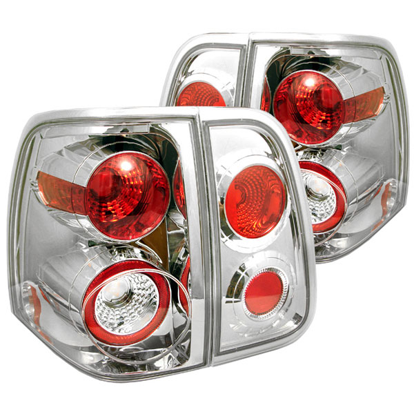 Spyder ALT-YD-LN03-C:  Lincoln Navigator 03-06 Altezza Tail Lights - Chrome