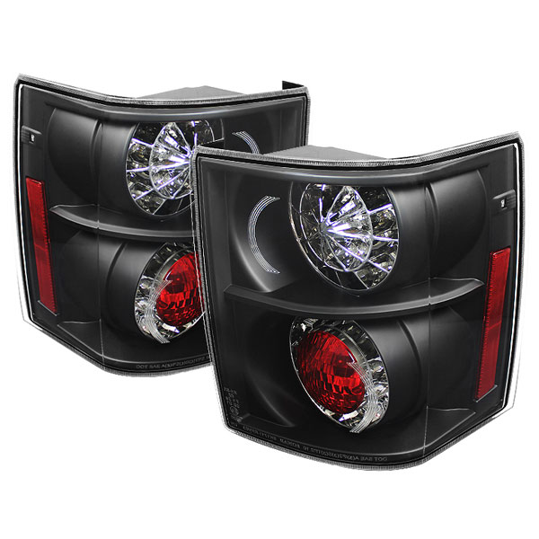 Spyder 5070111:  Land Rover Range Rover HSE 03-05 LED Tail Lights - Black - (ALT-YD-LRRRH03-LED-BK)