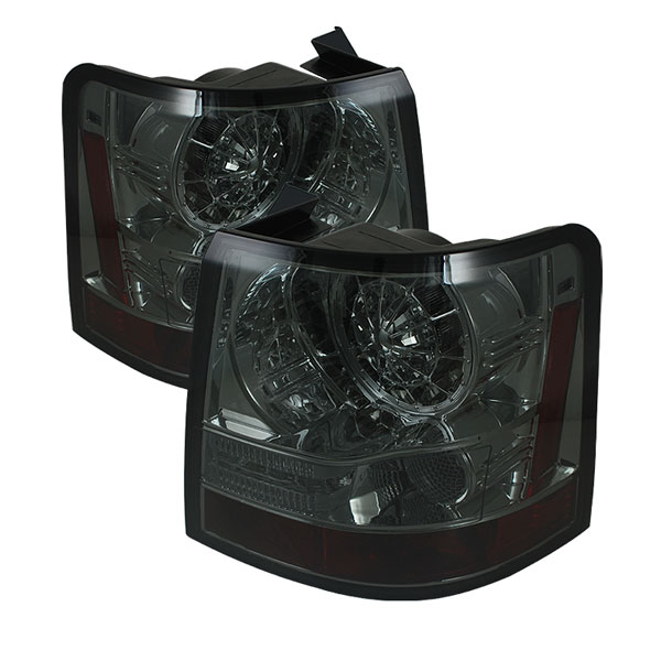 Spyder ALT-YD-LRRRS06-LED-SM:  Land Rover Range Rover Sport 06-09 LED Tail Lights - Smoke