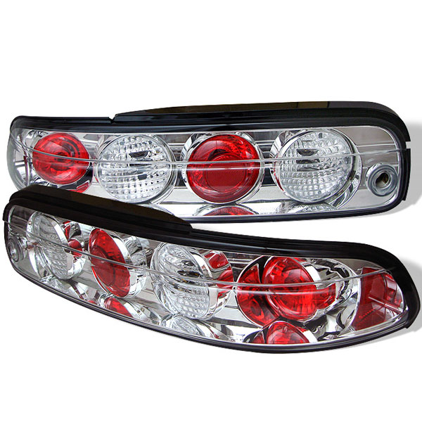 Spyder ALT-YD-LSC300-C:  Lexus SC 300 / SC 400 95-00 Altezza Tail Lights - Chrome