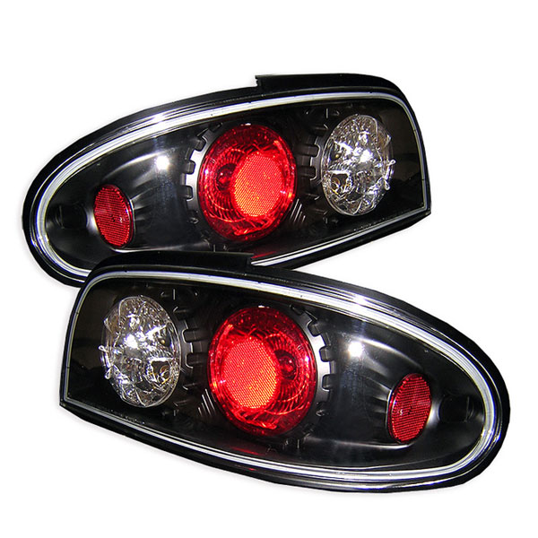 Spyder ALT-YD-NA93-BK:  Nissan Altima 93-97 Altezza Tail Lights - Black