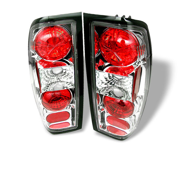 Spyder ALT-YD-NF98-C:  Nissan Frontier 98-00 Altezza Tail Lights - Chrome