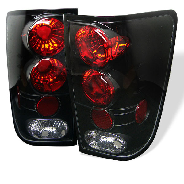 Spyder ALT-YD-NTI04-BK:  Nissan Titan 04-12 Altezza Tail Lights - Black