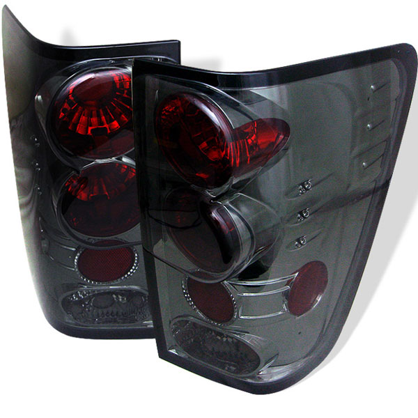 Spyder (5007056)  Nissan Titan 04-12 Altezza Tail Lights - Smoke  - (ALT-YD-NTI04-SM)