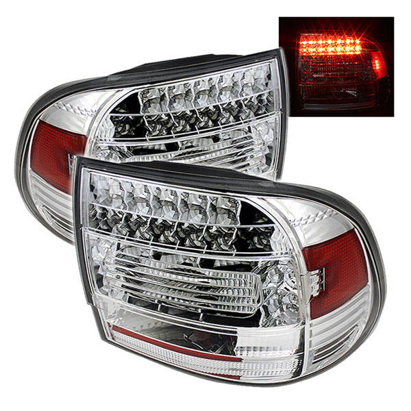Spyder ALT-YD-PCAY03-LED-C:  Porsche Cayenne 03-07 LED Tail Lights - Chrome