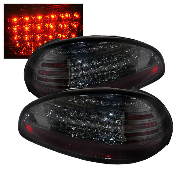 Spyder ALT-YD-PGP97-LED-SM:  Pontiac Grand Prix 97-03 LED Tail Lights - Smoke