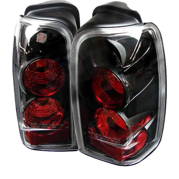 Spyder 5007292:  Toyota 4 Runner 96-02 Altezza Tail Lights - Black  - (ALT-YD-T4R96-BK)