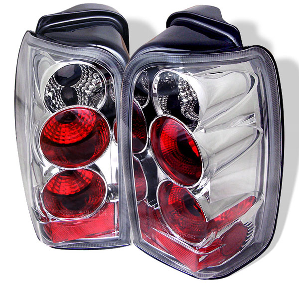 Spyder (5007308)  Toyota 4 Runner 96-02 Altezza Tail Lights - Chrome  - (ALT-YD-T4R96-C)