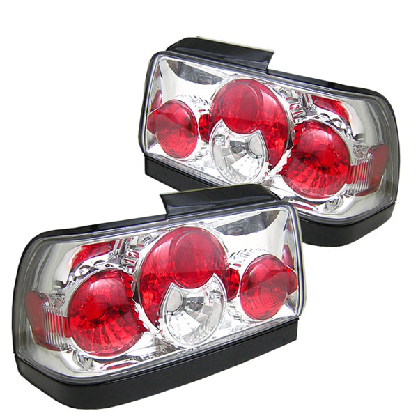 Spyder ALT-YD-TC93-C:  Toyota Corolla 93-97 Altezza Tail Lights - Chrome