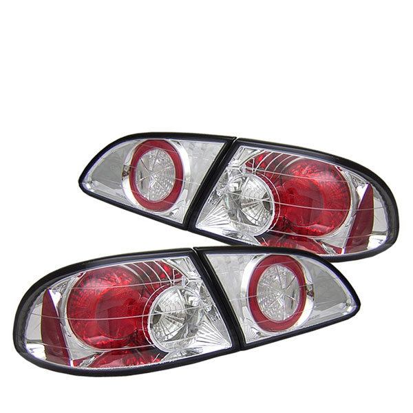 Spyder ALT-YD-TC98-C:  Toyota Corolla 98-02 Altezza Tail Lights - Chrome