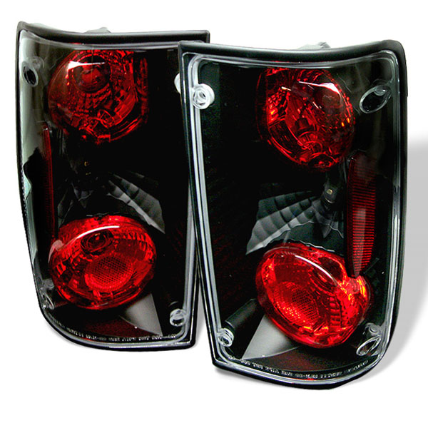 Spyder ALT-YD-TP89-BK:  Toyota Pick Up 89-95 Altezza Tail Lights - Black