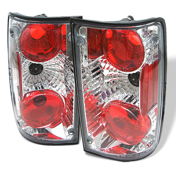 Spyder ALT-YD-TP89-C:  Toyota Pick Up 88-95 Altezza Tail Lights - Chrome