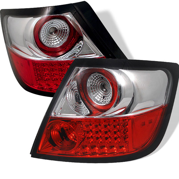 Spyder ALT-YD-TSTC04-LED-RC:  Scion TC 05-10 LED Tail Lights - Red Clear