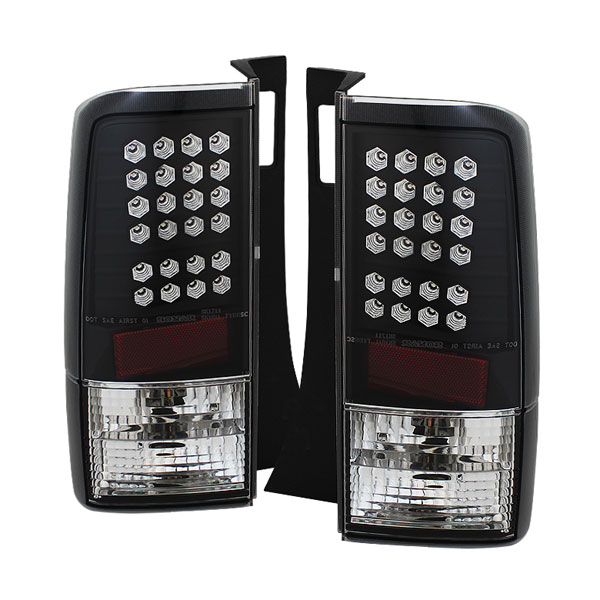 Spyder (5007759)  Scion XB 03-07 LED Tail Lights - Black  - (ALT-YD-TSXB03-LED-BK)