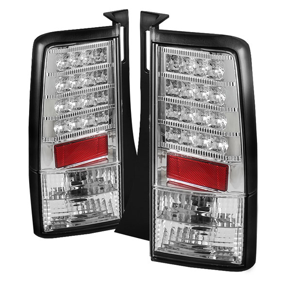 Spyder ALT-YD-TSXB03-LED-V2-C:  Scion XB 03-07 Version 2 LED Tail Lights - Chrome