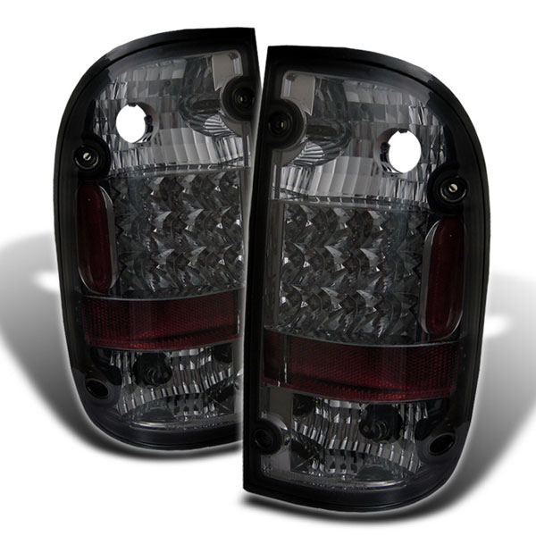 Spyder (5007889)  Toyota Tacoma 01-04 LED Tail Lights - Smoke  - (ALT-YD-TT01-LED-SM)