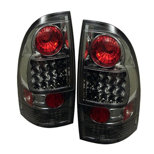 Spyder 5007957 | Toyota Tacoma LED Tail Lights - Smoke - (ALT-YD-TT05-LED-SM); 2005-2008