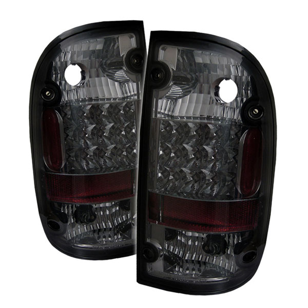 Spyder ALT-YD-TT95-LED-SM:  Toyota Tacoma 95-00 LED Tail Lights - Smoke