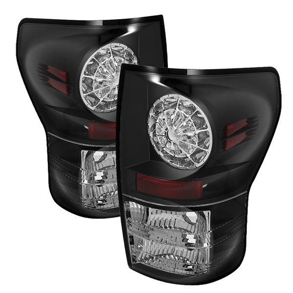 Spyder (5029584)  Toyota Tundra 07-12 LED Tail lights - Black  - (ALT-YD-TTU07-LED-BK)