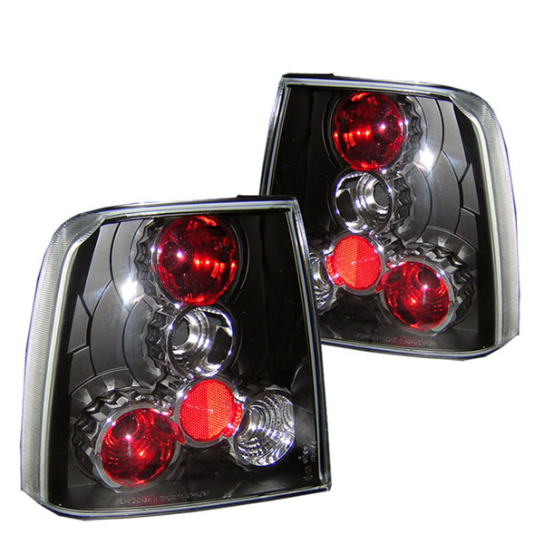 Spyder ALT-YD-VWPAT97-BK:  Volkswagen Passat 97-00 Altezza Tail Lights - Black