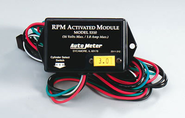Auto Meter AM-5310: Auto Meter RPM Acticated Module