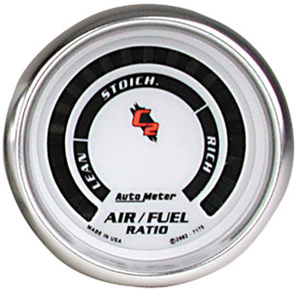 Auto Meter AM7175: Auto Meter C2 Air/Fuel Gauge