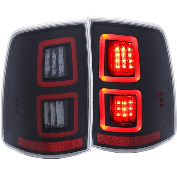 Anzo 311273 Anzo Usa Dodge Ram Led Taillights Black